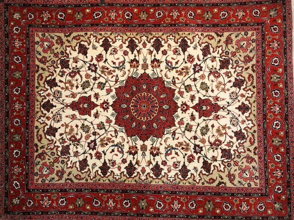 Emporio Tappeti Persiani by Paktinat - Tabriz 50 Raj con seta cm 204x155