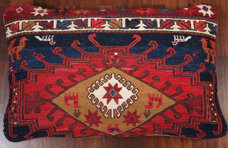 Tappeti Kilim Afgani : Emporio tappeti persiani by paktinat cuscino kilim cm67x42 vecchia